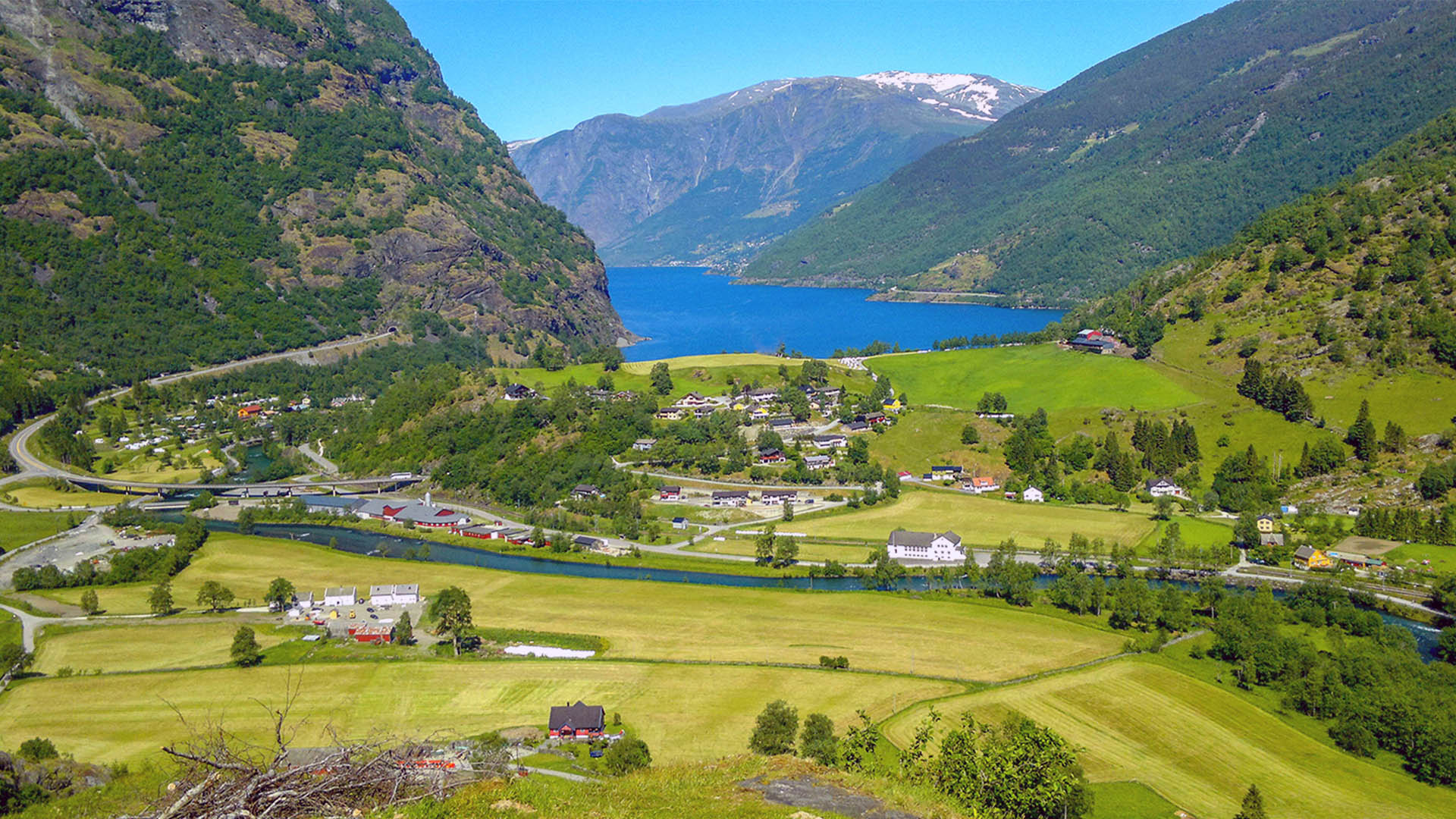 View of Flåm