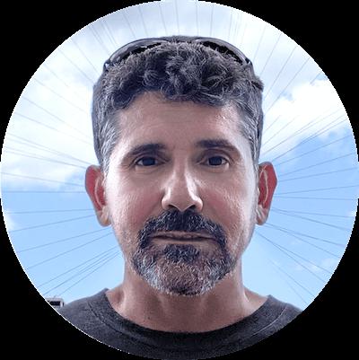 Carlos de Aguilar goetica co-founder and technical director